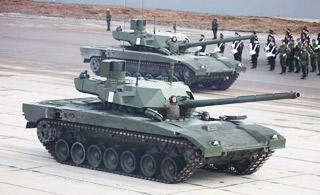俄胜利日阅兵首次彩排曝光 有些装备第一次见