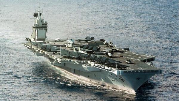 中国电磁航母出航CG帅气出炉