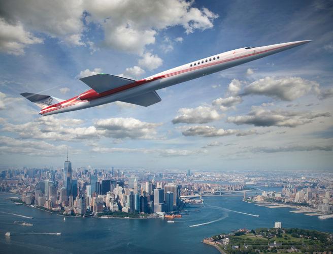 新一代低噪音超音速飞机或2023年面世