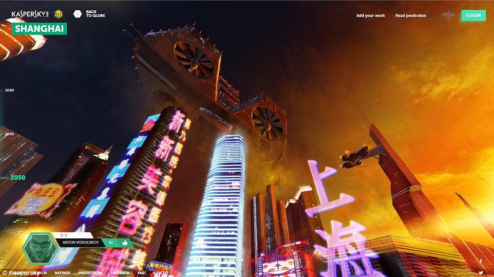 """卡巴斯基创立""""地球2050""""项目 预想未来生活"""