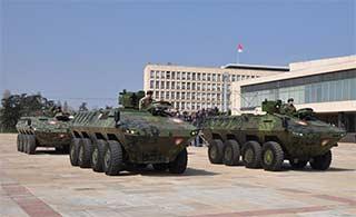 东欧小国建造装甲车有模有样