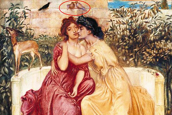 英美术馆办画展揭秘画中隐藏同性恋暗语
