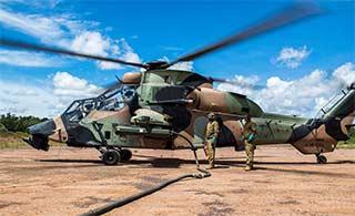 澳大利亚陆军演练出动虎式武直