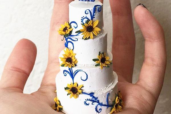 美蛋糕师推出微雕蛋糕引众人追捧