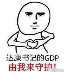 别低头,GDP掉!爆红的达康表情书记瓜皮猫信表情包微,今天图片