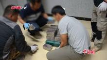 云南一男子摩托车运20余公斤海洛因被查获