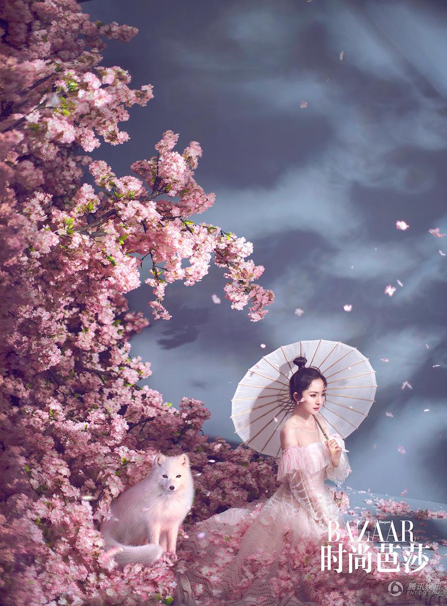 古风 手绘 桃花林