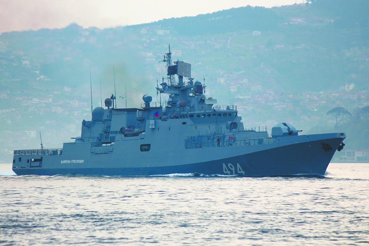 俄军新锐护卫舰驰援叙利亚 让美不敢轻举妄动?