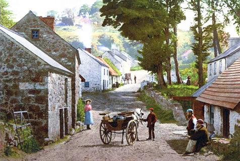 精美明信片展现百年前北爱尔兰风光