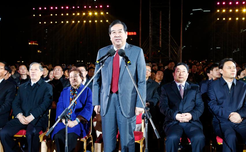 """第35届中国洛阳牡丹文化节开幕式""""华丽绽放"""""""