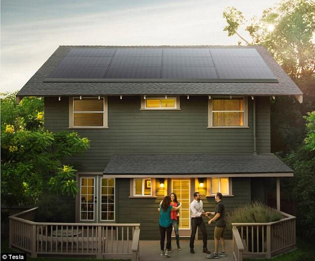 特斯拉推最新型太阳能电池板 可与任何房顶匹配