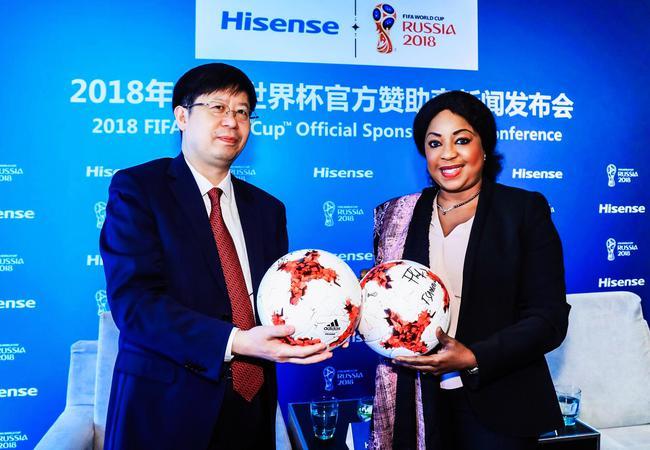 海信与FIFA签署协议 正式成为2018年世界杯赞助商