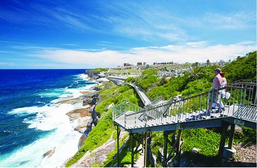 悉尼日光为笔涂染风景醉心情