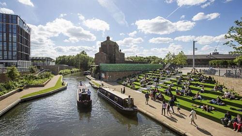 逐水而居,漂流在伦敦运河上