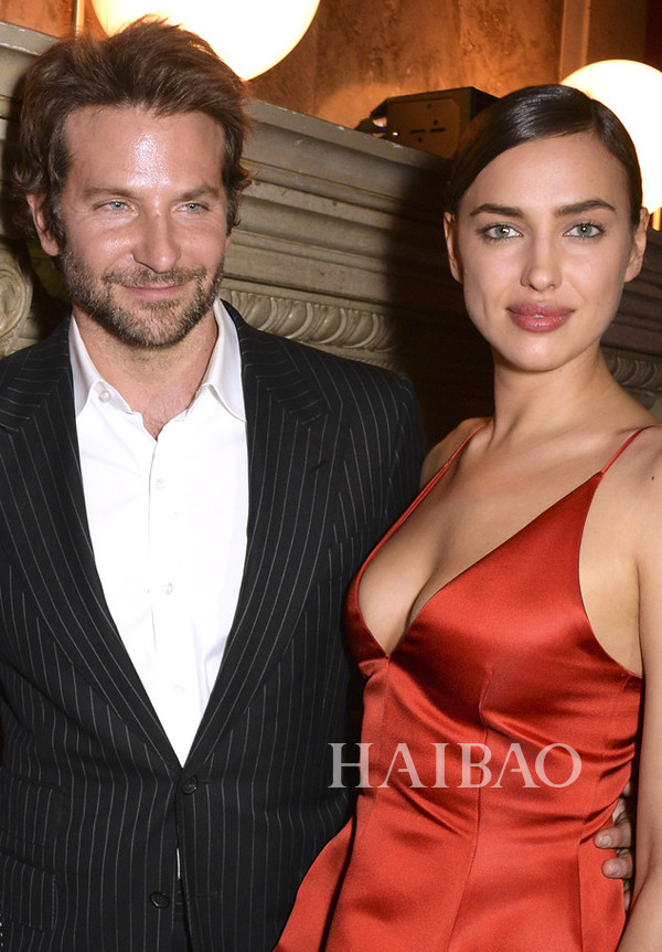 Bradley Cooper与俄罗斯名模女友Irina Shayk的第一个孩子降生
