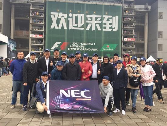 NEC赞助Force India 速度与科技引爆F1赛场