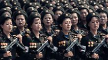 """朝鲜霸气回应美航母""""入侵"""" 绝不乞求和平"""