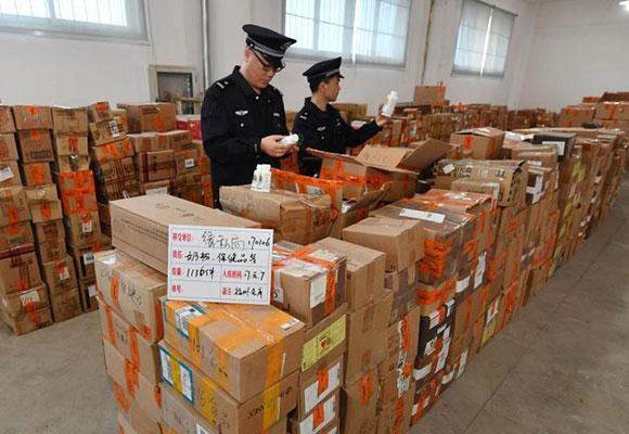深圳查获案值约3700万元走私冻品 部分来自疫区