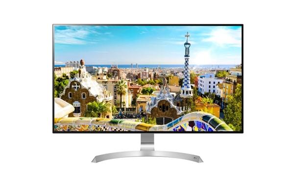 四边无边框+HDR!LG最美4K旗舰显示器开卖