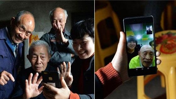 离家77年 97岁台湾老兵找到四川亲人