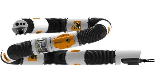 挪威研发蛇形机器人 可进行水下设备维护
