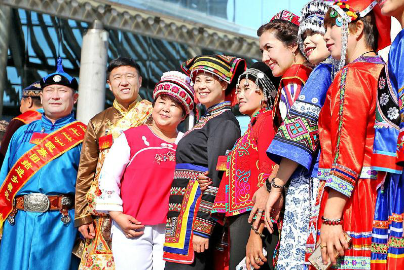 新疆是56个民族共同的家