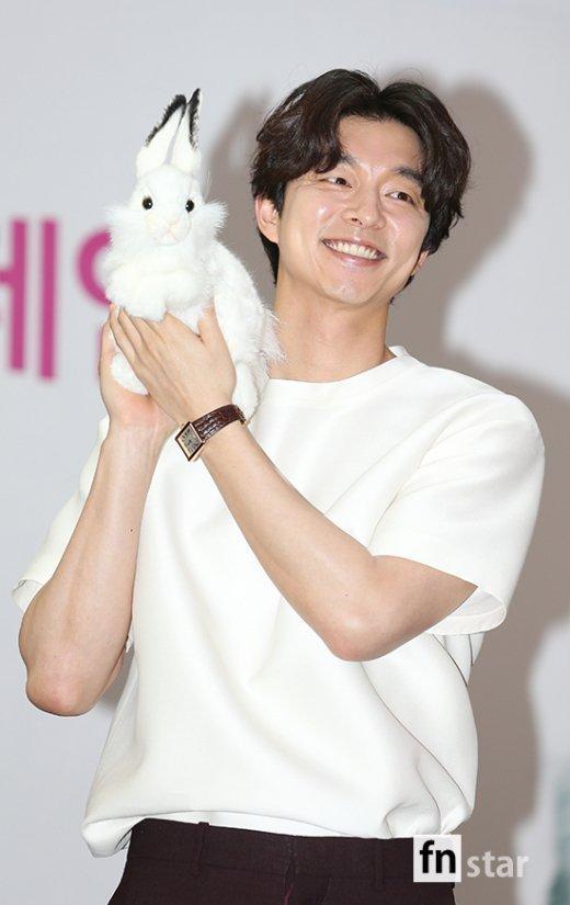 孔刘出席反对动物实验活动