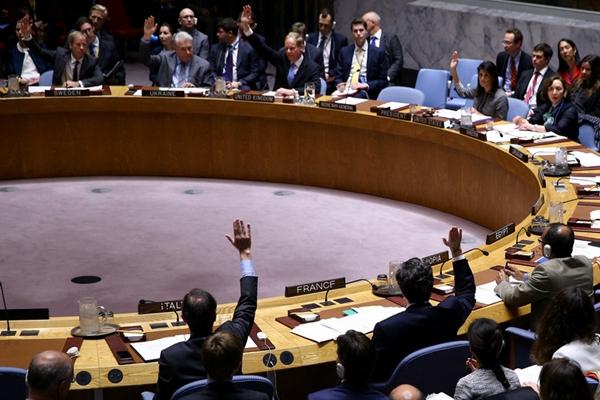 联合国未通过有关叙利亚化学武器问题决议草案
