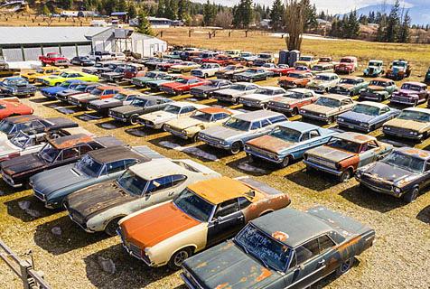 加汽车迷售2万平庄园 含340辆古董车