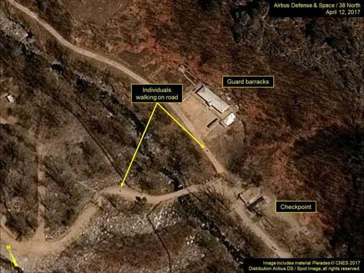 外媒称朝鲜第6次核试准备已完成 或于15日核试