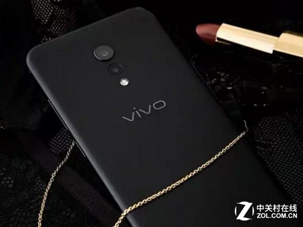 图为vivo Xplay 6磨砂黑版-黑色热度不减 今日京东热门手机TOP10
