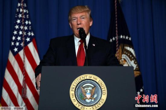特朗普:美国不会将中国列为汇率操纵国