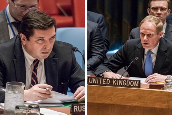 俄驻联合国代表怒怼英国:看着我的眼睛 侮辱俄罗斯试试!