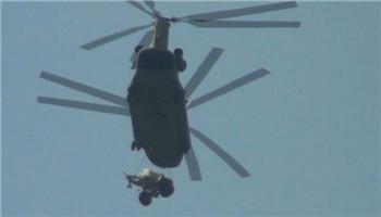 韩军出动12架直升机搬运一天 萨德反导部署在即