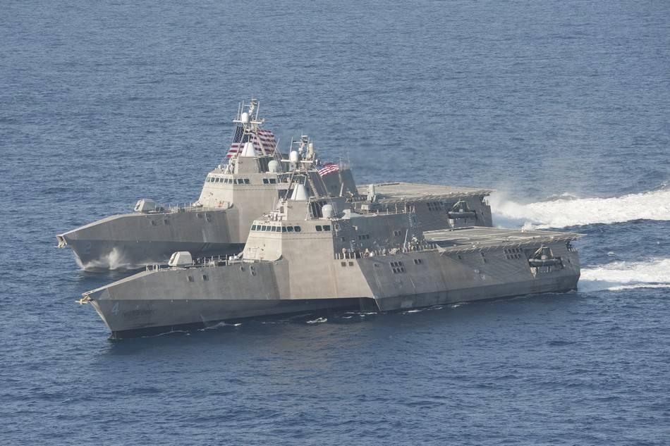 美媒:美军濒海舰难敌中国护卫舰 必须加强火力