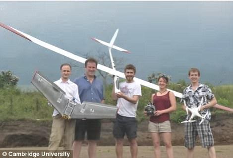 无人机新用途 英国科学家利用其研究活跃火山