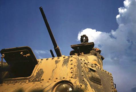 见证历史:二战时的美国坦克