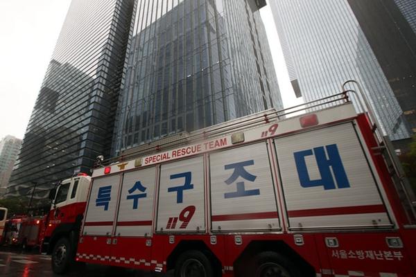 韩国三星大楼发现疑似爆炸物 警方疏散人群