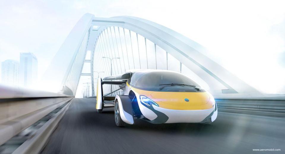 全球首款飞行汽车将发布 人类多年梦想即将实现