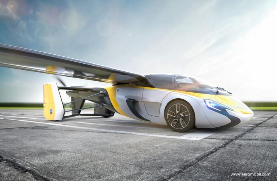 全球首款飞行汽车将发布_人类多年梦想即将实现
