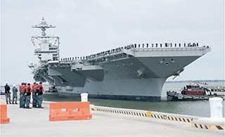 世界最强航母已完成首次海试