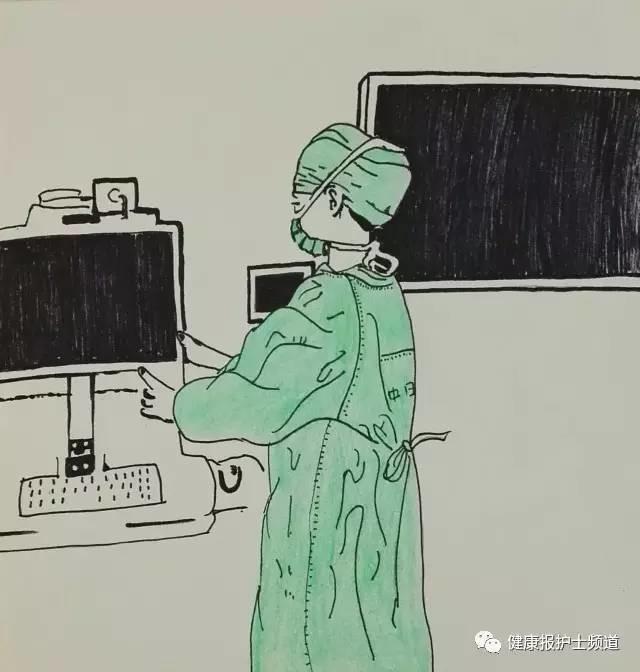 【护士漫画】用画笔记录手术室的温度和厚度