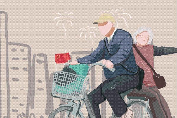 这位90岁老人身价千亿 却每天骑自行车上班