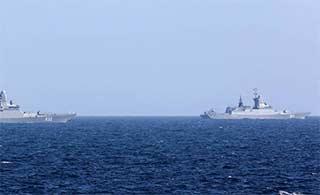 英军舰监视俄舰过英吉利海峡