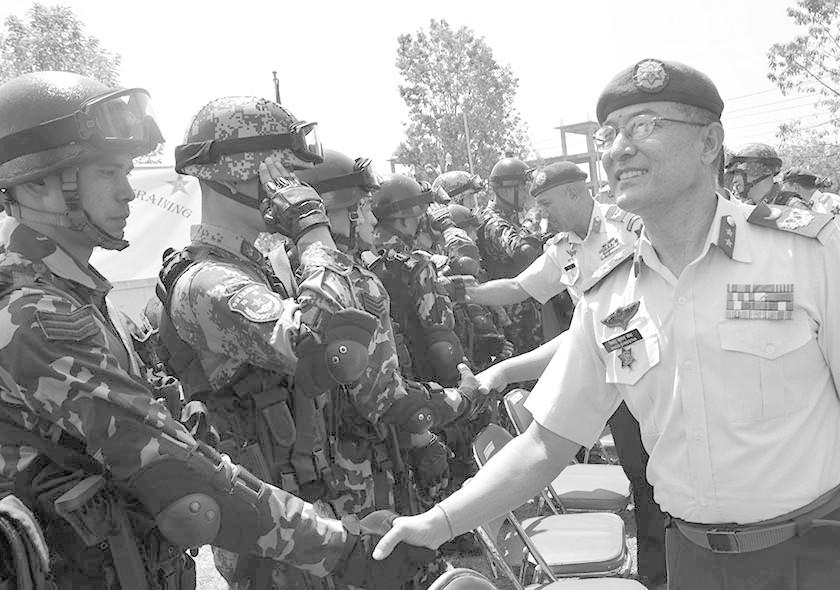 中尼两国军队首次联合训练 外媒:印度或不安