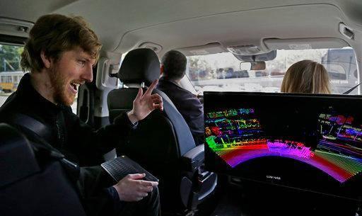 美国公司今年推出激光传感器 提高无人驾驶车安全性