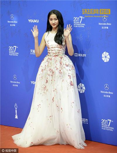 北京国际电影节开幕 红毯星光闪耀京城