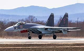 俄罗斯航空飞镖预赛苏35登场