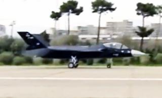 """伊朗""""隐形战机""""开始滑行测试 难道即将首飞?"""