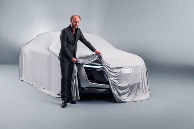 奥迪Sportback e-tron概念车预告发布 上海车展首秀